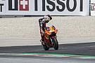 MotoGP Espargaro, yarış dışı kalması nedeniyle