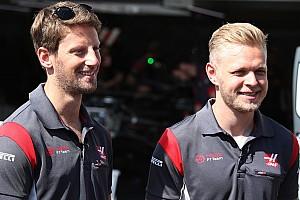 Haas conservera Grosjean et Magnussen en 2018