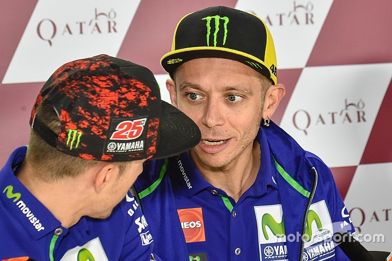 """Rossi: """"Desde que volví a Yamaha, nunca me puse como objetivo el 10º título"""""""