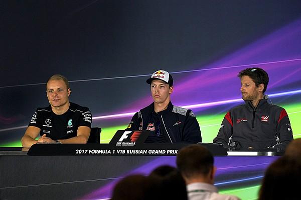 Formula 1 Press conference Russian GP: Thursday's Press Conference