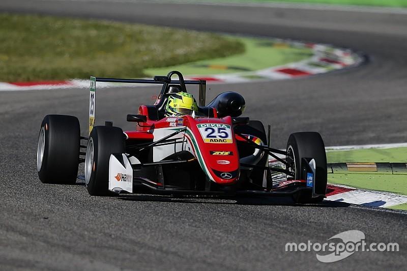 Formel-3-EM in Monza: Mick Schumacher erstmals auf dem Podium