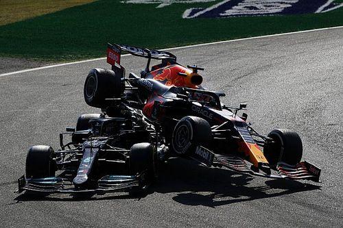 """Verstappen dient Hamilton van repliek: """"Het is allemaal kinderspel"""""""