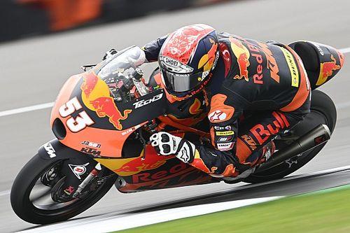 Moto3アラゴン初日:総合トップタイムはオンジュ。日本勢は佐々木歩夢が最上位の総合13番手