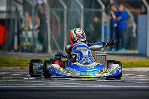 Andrea Antonelli ha vinto a 12 anni la WSK Super Master Series nella classe OKJ