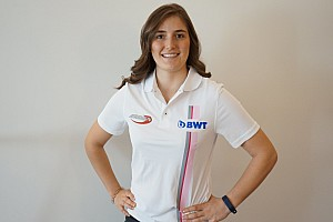 Tatiana Calderón, primera mujer en la F2