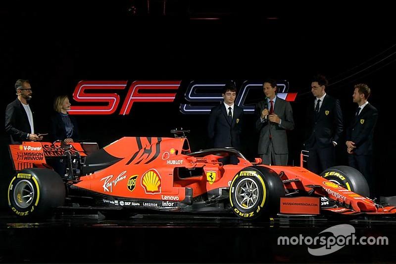 Ferrari muestra su SF90 con el que espera volver a reinar en la F1