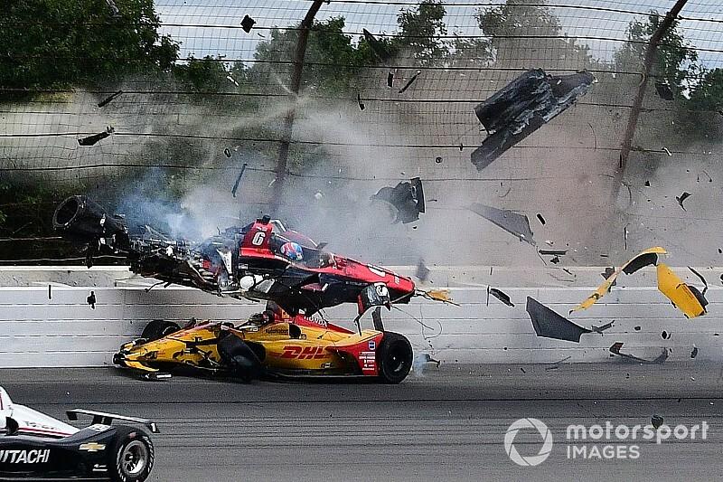 Wickens verlamd aan benen na zware IndyCar-crash