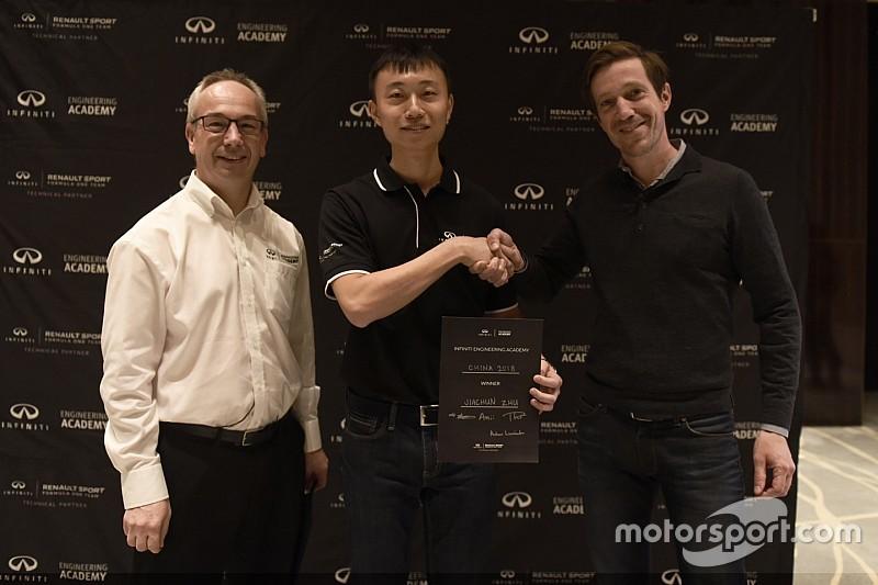 Infiniti Engineering Academy 2018 China winner revealed