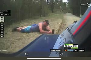 Болельщики попались на опасном поведении во время Ралли Австралия, выложив свои фото в соцсети