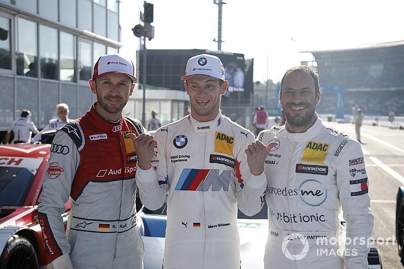 DTM-Finale Hockenheim 2018: Letzte Pole-Position der Saison für Wittmann