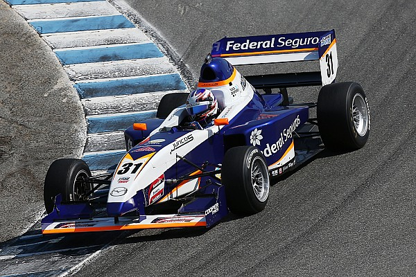 Pro Mazda Title contenders' first-lap clash hands win to Dapero