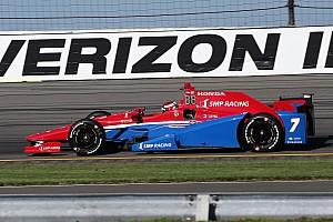 IndyCar Отчет о тренировке Алешин возглавил протокол первой тренировки в Поконо