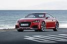 Audi TT RS: agressiever, dikker én lekker rap