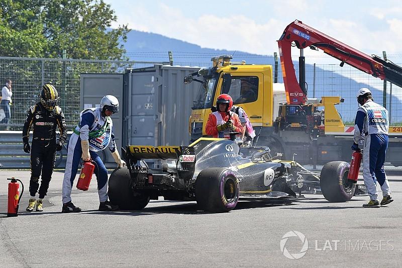 Renault no pudo salvar el motor que Hulkenberg usó en Austria