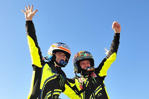 Rallye Bildergalerie: Valentino Rossi bei der Monza-Rallye-Show