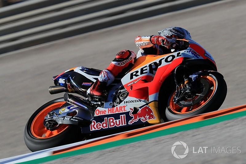 Valencia Motogp Marquez Quickest In Fp3 Vinales Into Q1