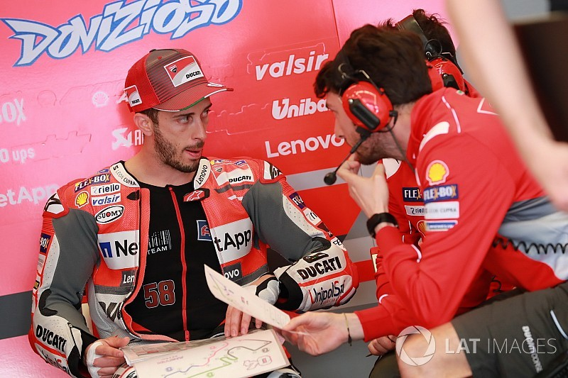 Dovizioso rejeita oferta inicial da Ducati para renovação