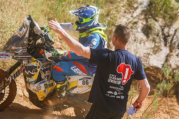 """Merzouga Rally: Leading duo collide in """"crazy"""" stage finish"""