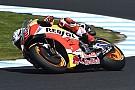 MotoGP Marquez domineert eerste training voor Australische GP