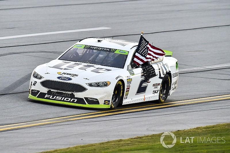 "NASCAR in Talladega: Brad Keselowski siegt bei Playoff-""Massaker"""