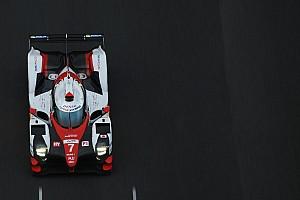 WEC Nieuws Toyota legt eerste test af met aangepaste LMP1