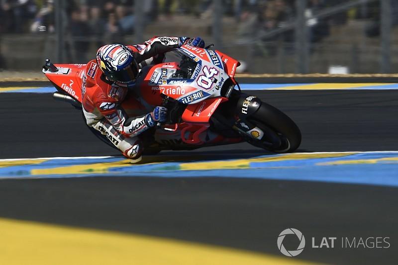FP2 MotoGP Prancis: Dovizioso ungguli Marquez, Rossi ketiga