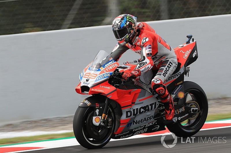 "Lorenzo ""feeling even better"" than in Mugello"