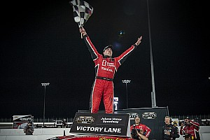 NASCAR Canada Race report Kevin Lacroix scores maiden oval track win in NASCAR Pinty's Series