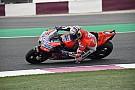MotoGP Dovizioso lidera delante de Rossi en el arranque de Qatar