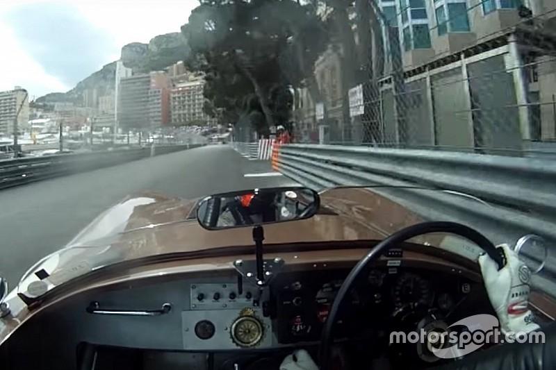 Vidéo - Un tour en Jaguar C-Type 1952 à Monaco