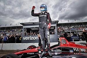 IndyCar Crónica de Clasificación Wickens logra la pole para el inicio de la temporada 2018 de IndyCar