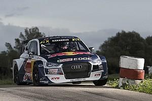 Rallycross-WM Testbericht Bestzeit für Mattias Ekström beim WRX-Test in Silverstone