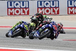 MotoGP Réactions Rossi s'attendait à avoir un meilleur rythme en course