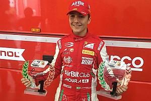 Fórmula 4 Últimas notícias Enzo Fittipaldi vence duas de três corridas pela F4 Italiana