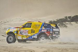 Dakar Motorsport.com hírek Dakar 2018: nem úszták meg bukás nélkül Szalayék a harmadik szakaszt