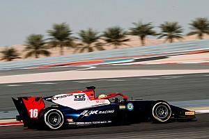 FIA F2 Testing report Maini quickest on second Bahrain F2 test day