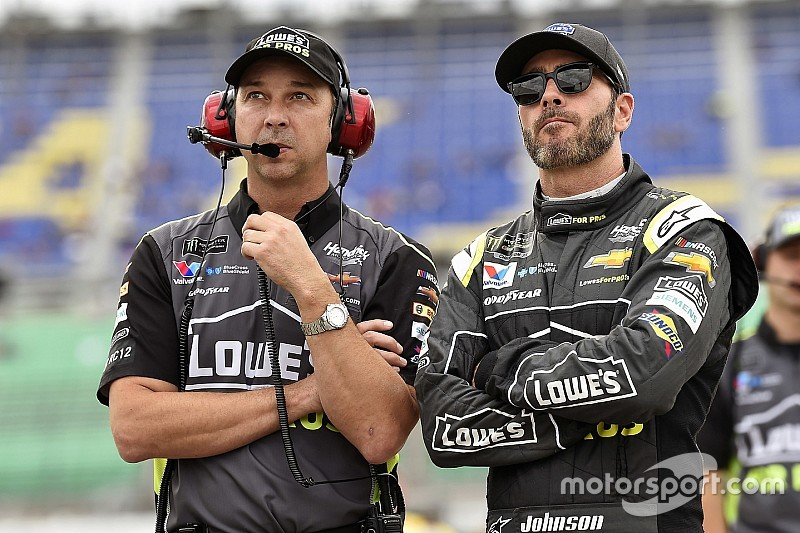 Johnson and crew chief Knaus to end 17-year relationship