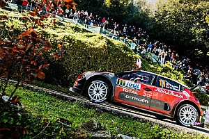 WRC Leg report Corsica WRC: Loeb tops two stages on Saturday morning