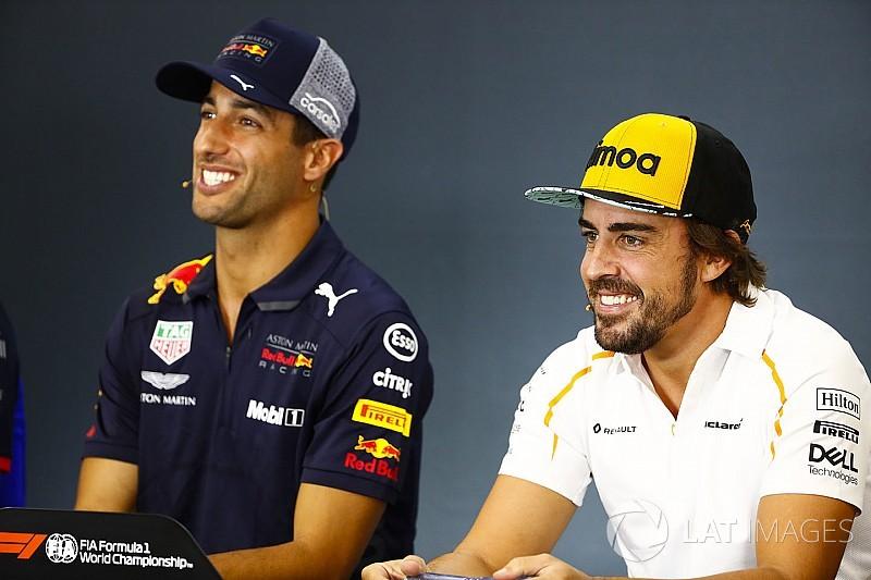 Red Bull denies it offered Alonso Ricciardo's drive