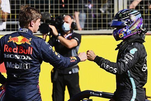 VÍDEO: Confira como foi reencontro de Verstappen e Hamilton após acidente na Grã-Bretanha