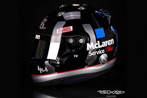 F1 | Ricciardo ricorda Dale Earnhardt con un casco celebrativo
