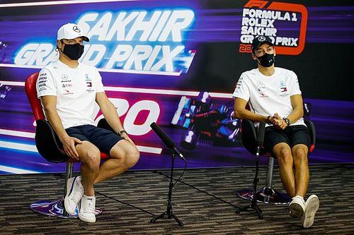 """Bottas admite que """"não seria bom"""" perder para Russell no Sakhir"""