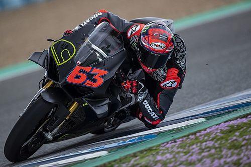 Bagnaia Ungkap Trik Ducati Panigale V4 S Dekati Rekor Lap MotoGP