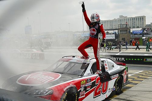 """Christopher Bell is still learning but """"winning is not a problem"""""""