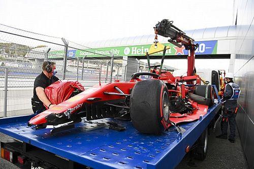 """Vettel: """"Ho perso il controllo in Curva 4, stavo rischiando"""""""