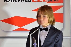 Найкращий картингіст України отримав чемпіонський кубок CEE Rotax Max Challenge