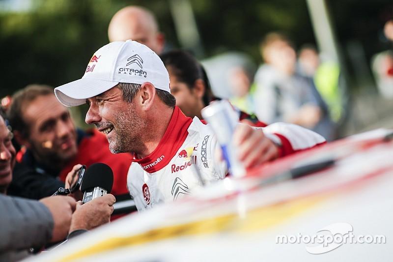 Loeb admite que su victoria le hace pensar en volver al WRC