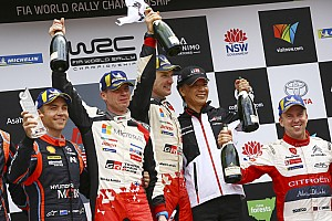 WRCタイトル獲得。豊田トヨタ社長「この勝利で終わるわけではない」