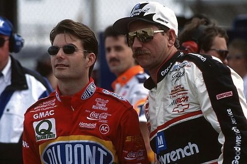 """Jeff Gordon: Rivalry with Earnhardt """"changed my life forever"""""""