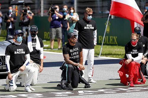 """Hamilton, diz çöken F1 sürücülerine """"minnettar"""""""